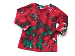 Baby Long Sleeve Tee - Crackle (0-6M)