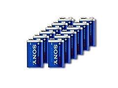 Sony Stamina Sony Alkaline Stamina 9V-12