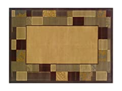 Olivia Area Rug Beige/Brn -5 Sizes