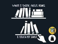 I Touch My Shelf Tote