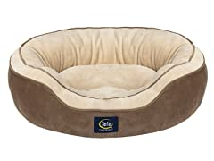 Serta Oval Nester Pet Bed