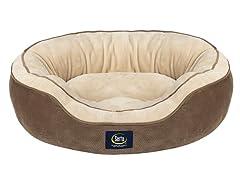 Serta Oval Nester Pet Bed