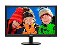 "Philips 23.6"" Full HD Monitor"