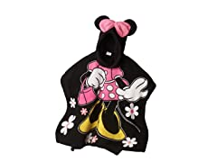 Minnie Mouse Hooded Poncho - Toddler