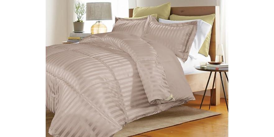 kathy ireland down alternative comforter
