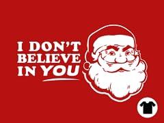 Disbelieving Santa