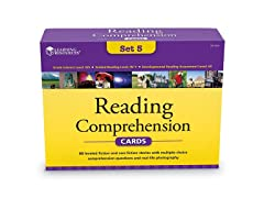 Learning Resources Reading Comprehension Card Set 5
