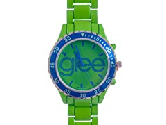 Standard Logo Watch - Green Band