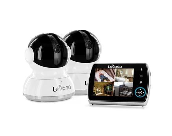 levana keera 3 5 monitor w 2 cameras. Black Bedroom Furniture Sets. Home Design Ideas