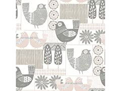 Spring Chickens Peel & Stick Wallpaper
