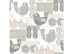 Spring Chickens Peel & Stick Wallpaper