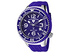 Men's Neptune Watch - Purple/Purple