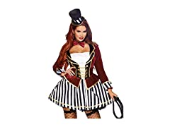 Women's Night Circus Ringmaster Costume