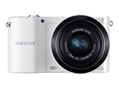 Samsung 20.3MP Smart Wi-Fi Camera w/ 20-50mm