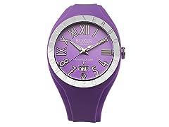 Men's BOX 40 VIOLET Purple Dial Watch