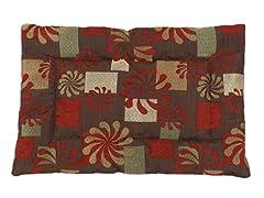 Pinwheel Spice 25x17 Pet Bed