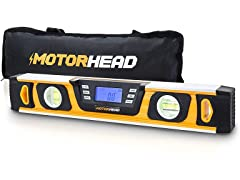 "Motorhead 16"" Magnetic Digital Level"