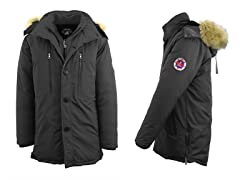 Heavy Weight Parka w Layered Wind Guard