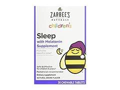 Zarbees Naturals Childrens Melatonin