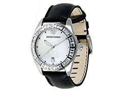 Crystal Leather Strap Luxury Ladies