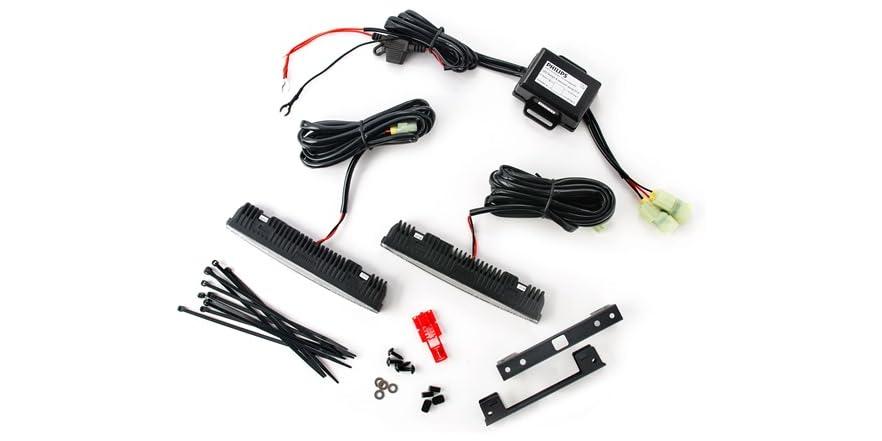 philips drl 2 8 led daytime running light kit