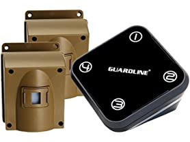 Guardline Wireless Driveway Alarm w/Two Sensors