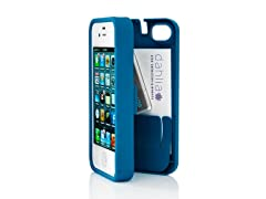 iPhone 4/4S Case w/Hinged Back-Turquoise