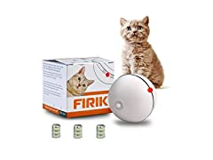 FIRIK Interactive Rolling Ball for Cats