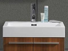"""24"""" Midori:  Single Sink Bathroom Vanity- Plum"""