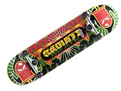 Rasta Burst Board