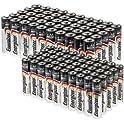 Energizer MAX 100 AA [or] 50AA+50AAA Alkaline Batteries