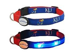 Kansas University LED Collar - Large