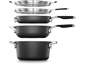 Calphalon SpaceSaving 7-PC Cookware Set