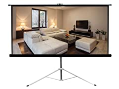 "Pyle Floor Standing Projector Screen 50""x66.9"""