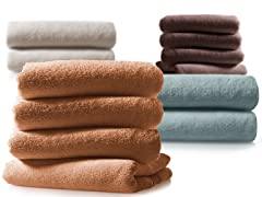 MicroCotton Finest Slightly Irregular Bath Sheets and Bath Towels-Your Choice