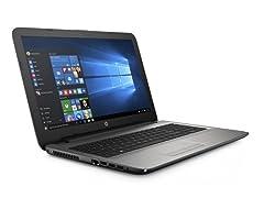 "HP 15-ay011ds 15.6"" Intel Quad-Core Laptop"
