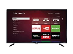"TCL 40"" 1080p 120Hz LED Roku TV"