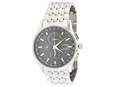 Eco-Drive World Chronograph A-T Mens 53E