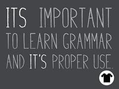 Proper Grammar Usage