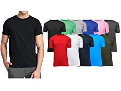 Men's 5Pack Assorted Crew Neck Tee