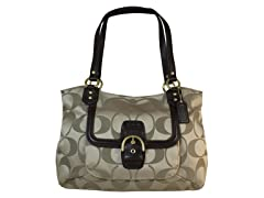 Campbell Signature Belle Carryall, Khaki