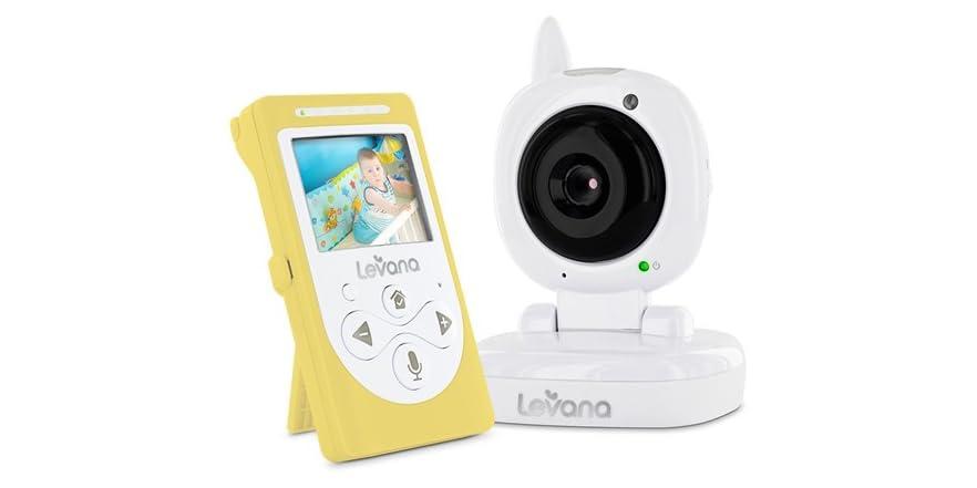 levana sophia digital 2 4 video monitor kids toys. Black Bedroom Furniture Sets. Home Design Ideas