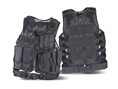 Yukon Tactical Black Loaded Vest