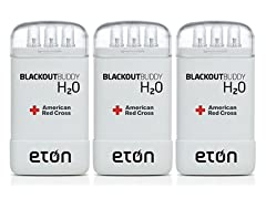 3-Pack Blackout Buddy H2O Water-Activated Emergency Lights