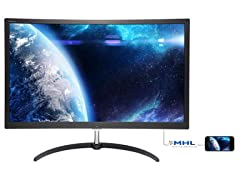 "Philips 27"" Curved Full HD Monitor"