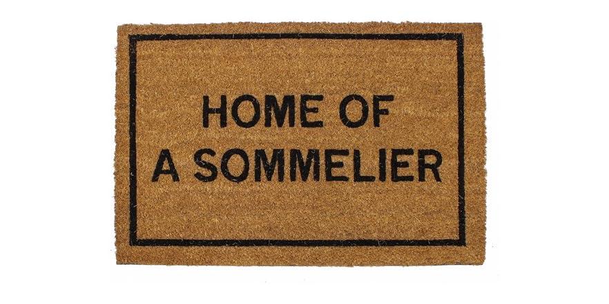 Clever doormats home of a sommmelier - Clever doormats ...