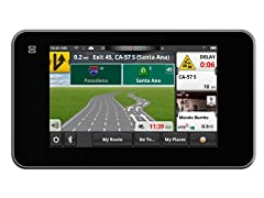 "Magellan 5"" Smart BT GPS with Lifetime Maps & Traffic"