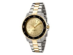 I by Invicta Two Tone Stainless Steel
