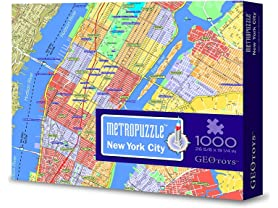 Geotoys Metropuzzle 1000PC Jigsaw Puzzle