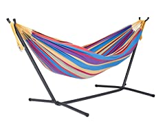 vivere 9 foot double hammock   tropical vivere cotton double hammocks  u0026 stands  rh   tools woot